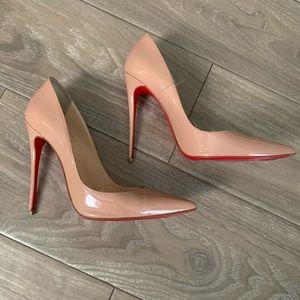 Christian Louboutin pointed toe heels